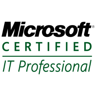 MCITP Microsoft Certified IT Professional